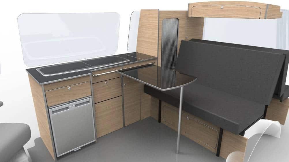 Evo 2 0 Short Wheel Base Van Diy Flat Pack Evo Design