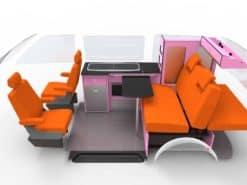 pink cameraman interior