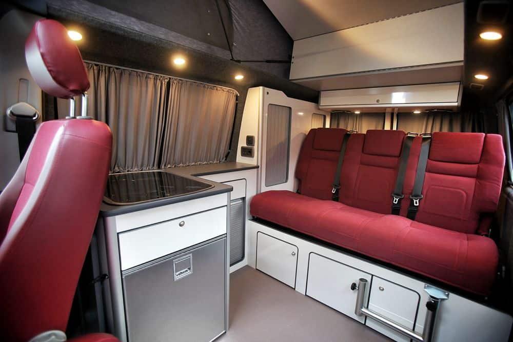 conversion gallery vw t5 campers kitchen pods flat. Black Bedroom Furniture Sets. Home Design Ideas
