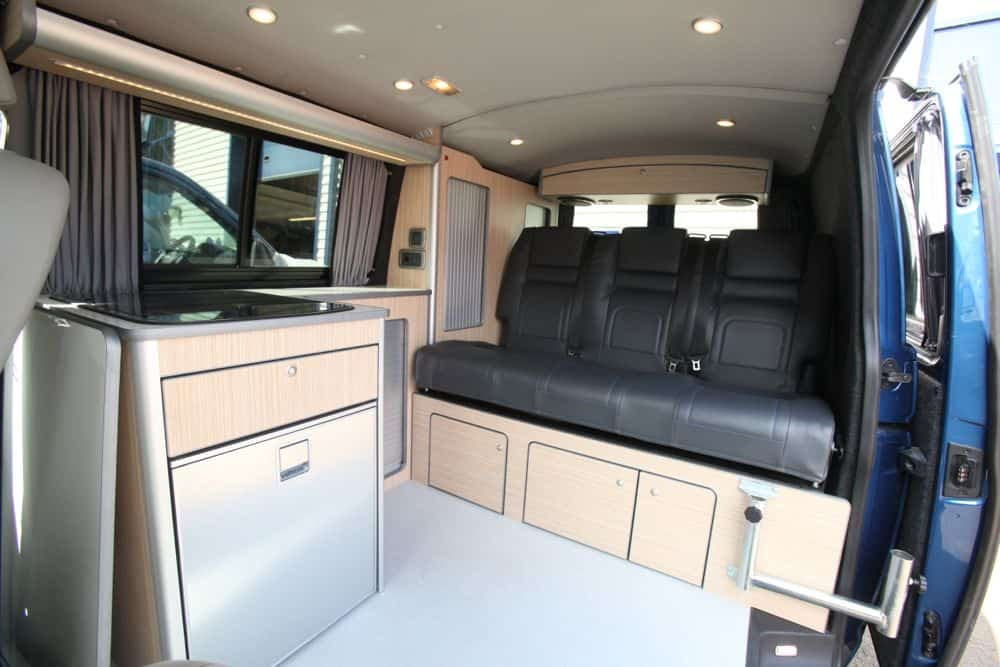 Full Width Over Bed Locker For Low Roof Vw T5 S Evo Design