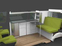 vw long wheel base furniture