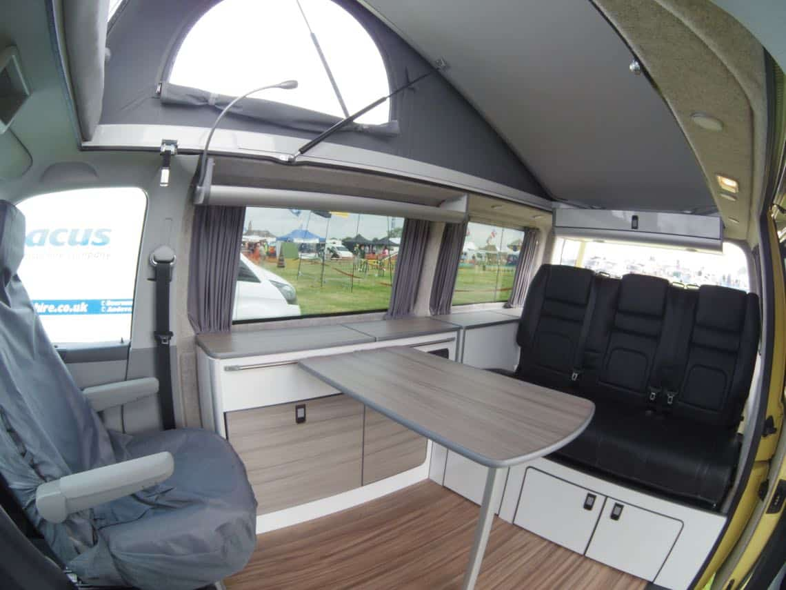 Furniture kit 1300 c slim front low back rib seat vw for Camper van kitchen units