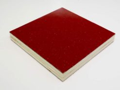red sparkle light weight plywood