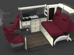 evo design furniture vw t6