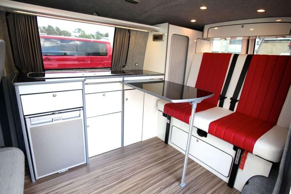 vw camper flat pack furniture
