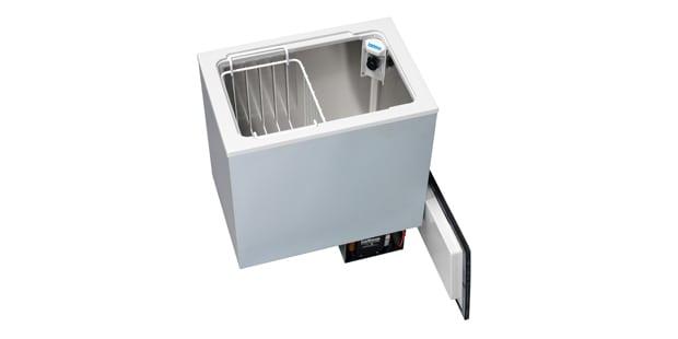 Webasto camper van top loading fridge