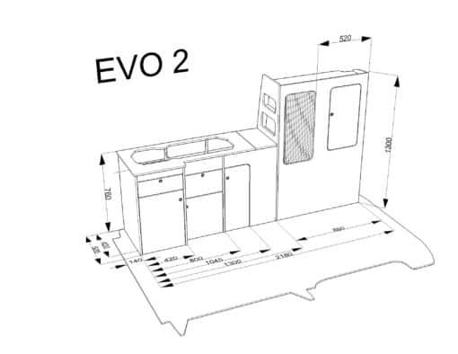 VW flat pack furniture drawing