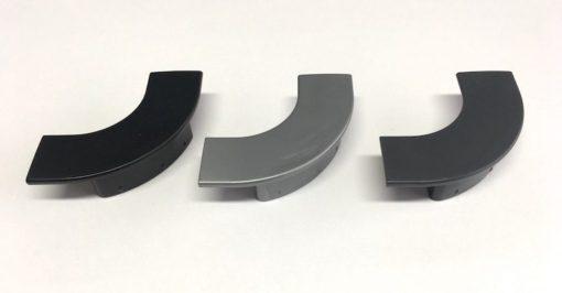end caps of 40mm aluminium