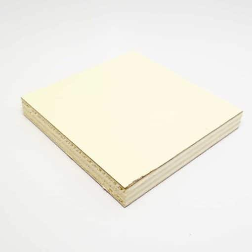 Cream gloss lightweight plywood