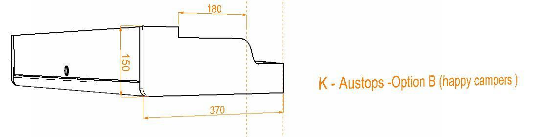 Evo Over bed locker diagram10