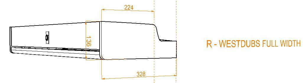 Evo Over bed locker diagram11