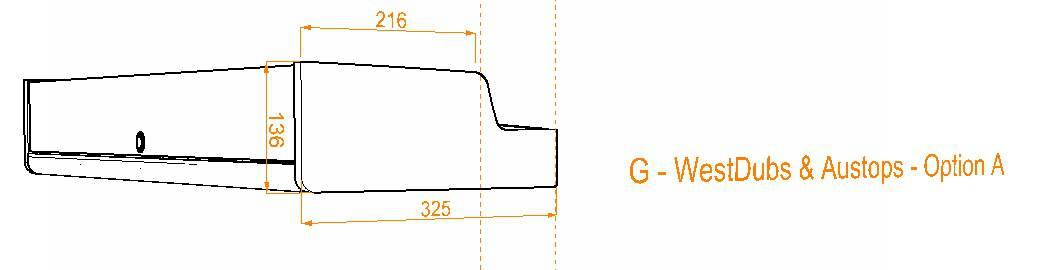 Evo Over bed locker diagram12