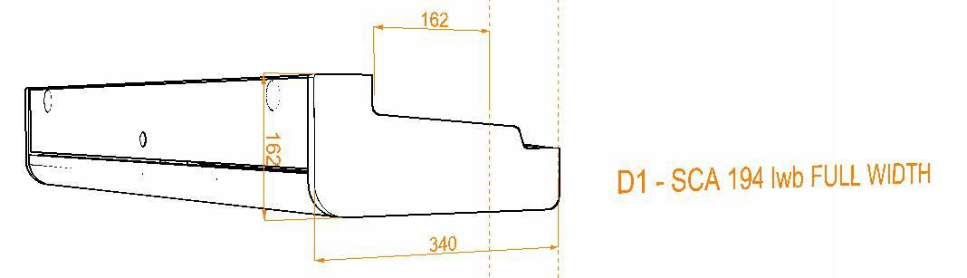 Evo Over bed locker diagram15