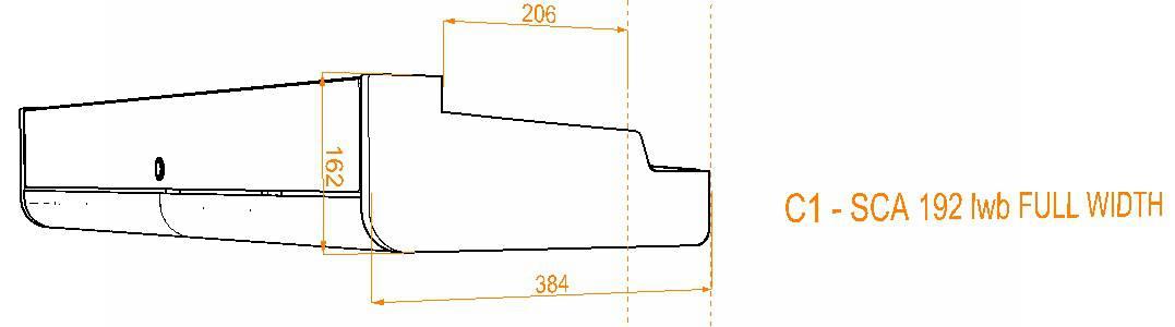 Evo Over bed locker diagram17