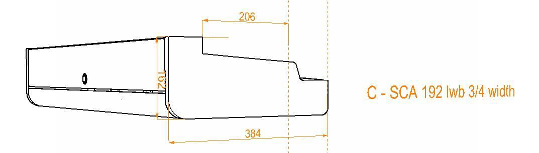 Evo Over bed locker diagram18