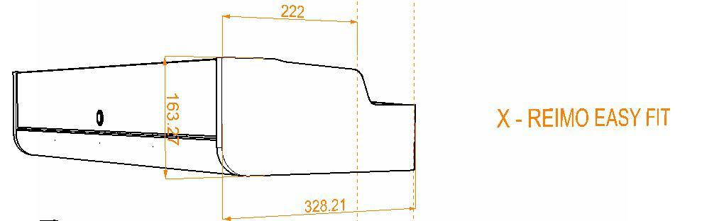Evo Over bed locker diagram21