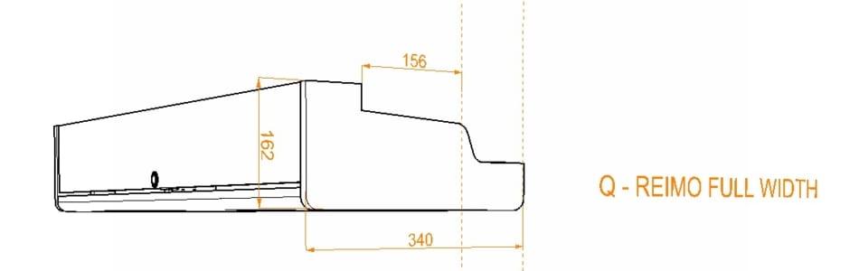 Evo Over bed locker diagram22