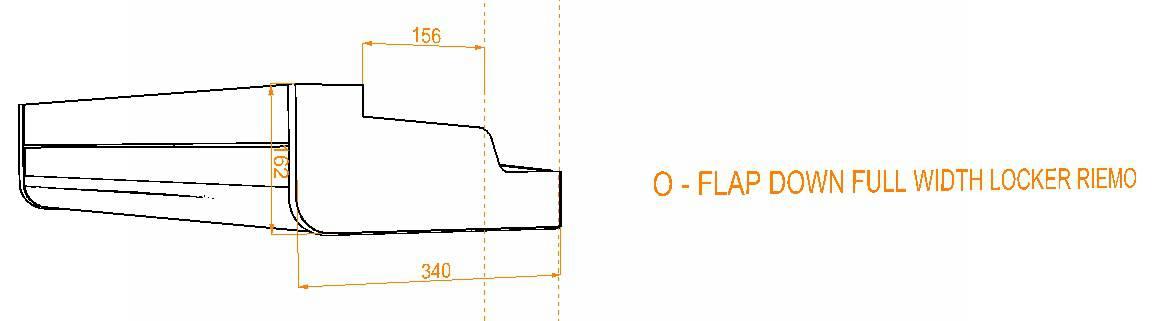 Evo Over bed locker diagram7