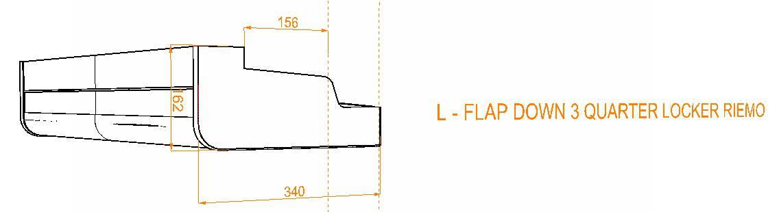 Evo Over bed locker diagram8