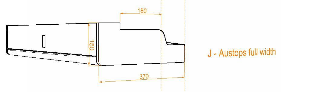 Evo Over bed locker diagram9