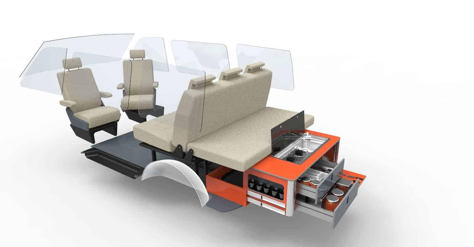 Rear Pod 1 Evo Design