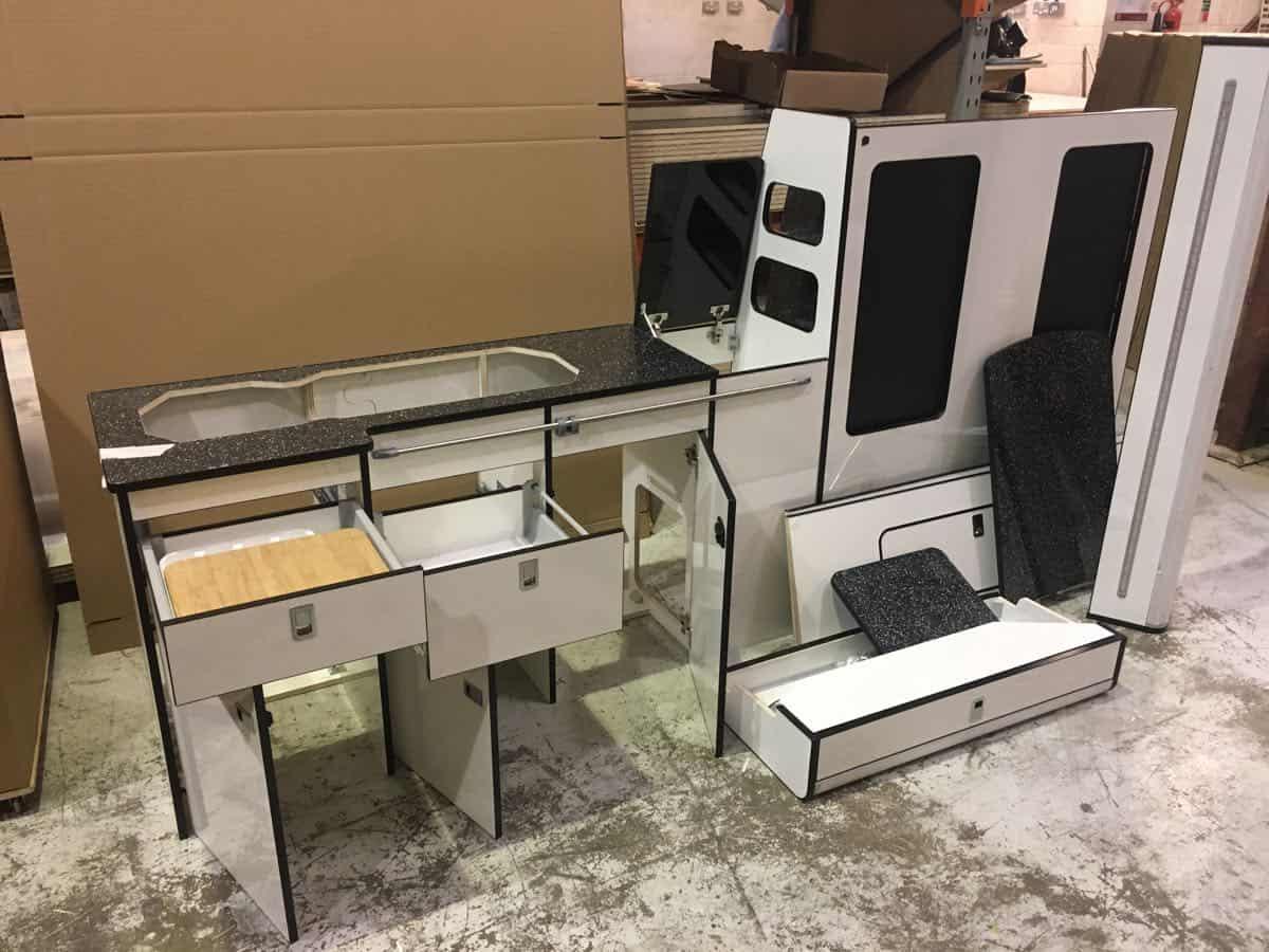 Evo 2 4 Long Wheel Base Van Twin Tambour Doors Evo Design