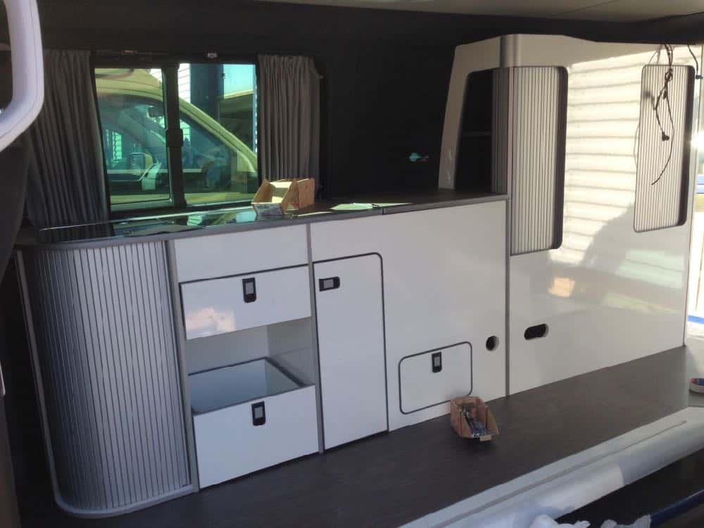 twin slide vw van furniture