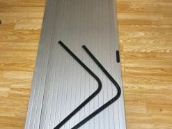 Tambour door for RV motorhome camper van